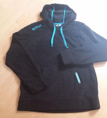 Schwarze Fleece-sweatshirt (Herren Fleece - Sweatshirt / Pullover **  L 52/54 **Crivit Sports *Schwarz *Neu)