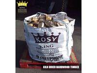 Kiln Dried Hardwood Firewood Wood Burning Stove From £3.10