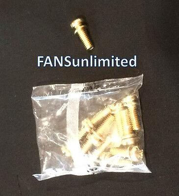 Blade Arm to Motor Screws Ceiling Fan Polished Brass 10 pcs
