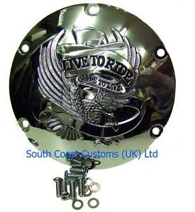 Eagle Spirit Derby Cover - Harley Sportster XL XR 2004 up