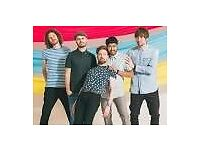 KAISER CHIEFS TICKET - standing - BIRMINGHAM BARCLAYCARD - 25TH FEBRUARY - £65