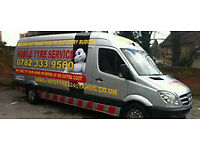 MOBILE TYRES SERVICE-EMERGENCY TYRES & ALLOYS SERVICE!!!