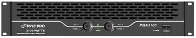 New Pyle PQA3100 19'' Rack Mount 3100 Watts Professional Power Amplifier