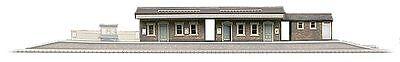 Superquick A4 Island Platform Building (OO scale card kit)