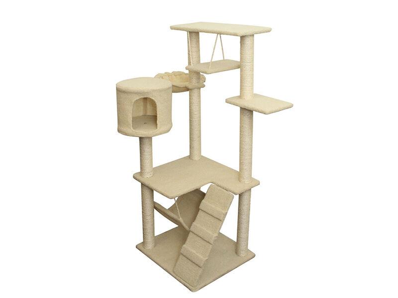 Kratzbaum Korbchen und Co die beliebtesten Mobel fur Katzen