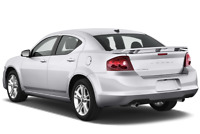 Dodge Avenger angular rear perspective