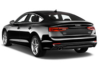 Audi A5 angular rear perspective
