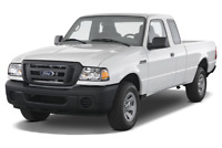 Ford Ranger angular front perspective