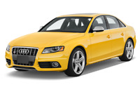 Audi S4 angular front perspective