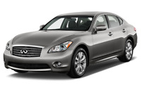 Infiniti M37 angular front perspective