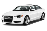 Audi A6 angular front perspective