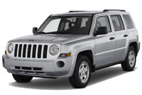 Jeep Patriot angular front perspective