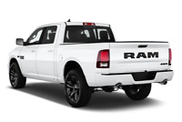RAM 1500 angular rear perspective
