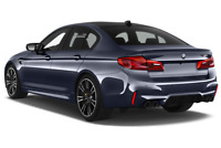 BMW M5 angular rear perspective