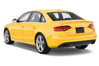 Audi S4 angular rear perspective
