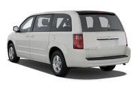 Dodge Grand Caravan angular rear perspective