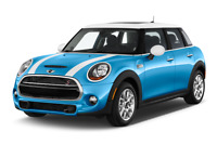MINI Cooper S angular front perspective