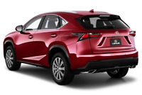 Lexus NX 200t angular rear perspective
