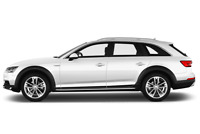 Audi A4 Allroad side view