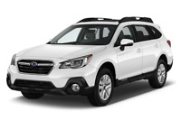Subaru Outback angular front perspective