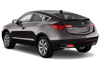 Acura ZDX angular rear perspective