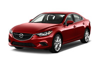 Mazda 6 angular front perspective