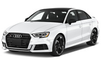 Audi S3 angular front perspective