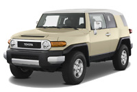 Toyota FJ Cruiser angular front perspective