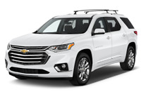 Chevrolet Traverse angular front perspective