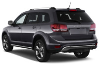 Dodge Journey angular rear perspective