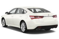 Toyota Avalon angular rear perspective