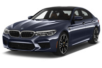 BMW M5 angular front perspective