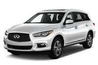 Infiniti QX60 angular front perspective