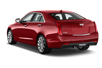 Cadillac ATS angular rear perspective