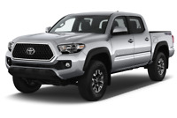 Toyota Tacoma angular front perspective
