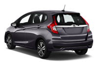 Honda Fit angular rear perspective