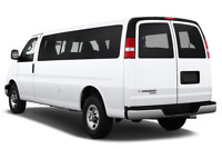 Chevrolet Express angular rear perspective