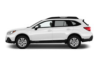 Subaru Outback side view