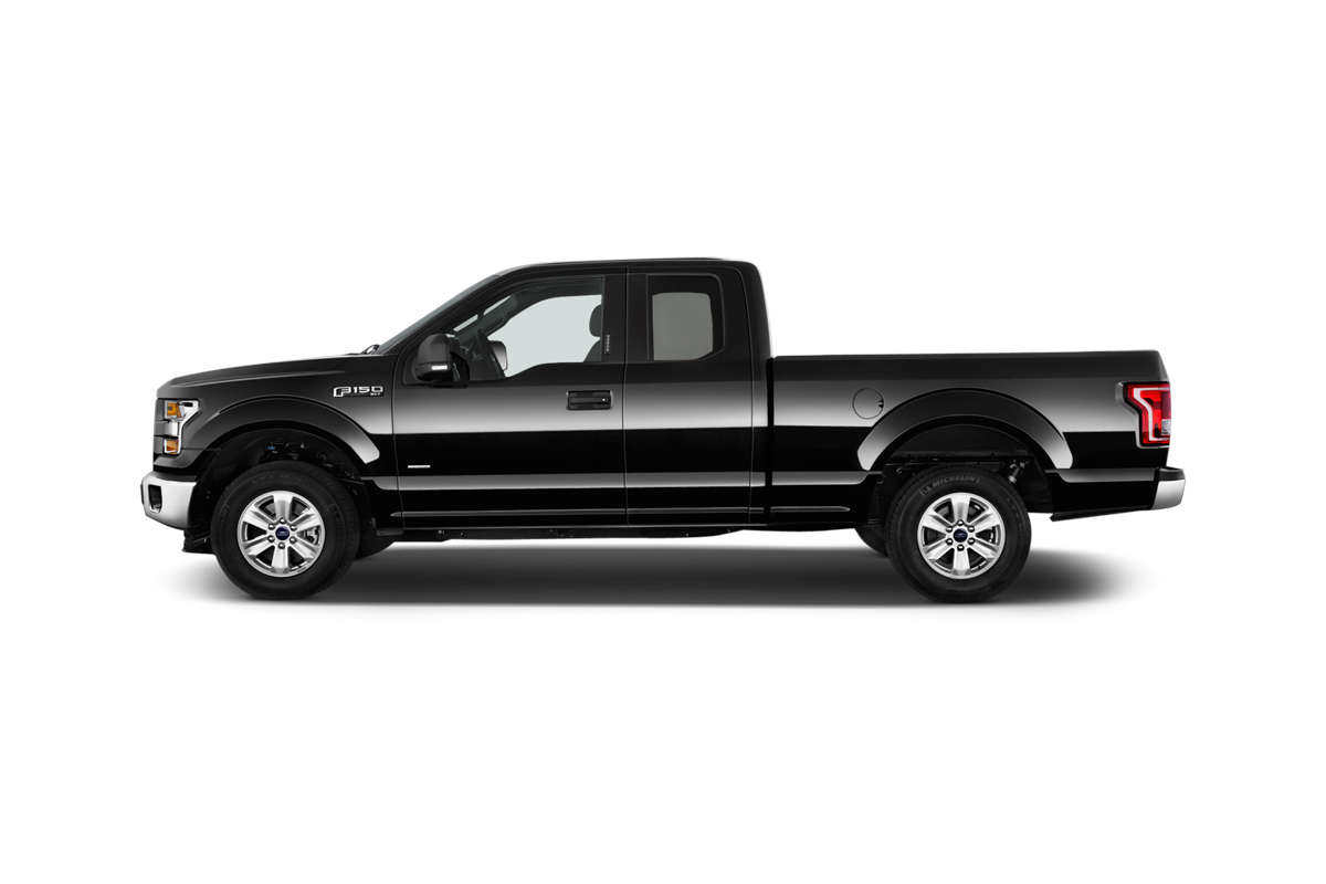 Ford F 150 side view