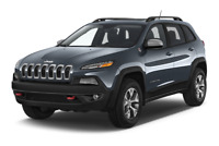 Jeep Cherokee angular front perspective