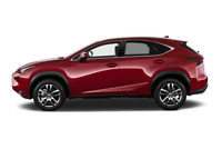 Lexus NX 200t side view