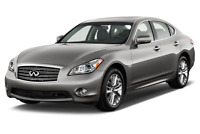 Infiniti M35h angular front perspective