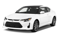 Scion tC angular front perspective