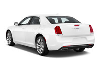 Chrysler 300 angular rear perspective