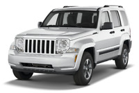 Jeep Liberty angular front perspective