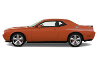 Dodge Challenger side view