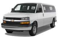 Chevrolet Express angular front perspective