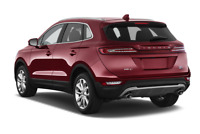 Lincoln MKC angular rear perspective