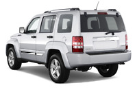 Jeep Liberty angular rear perspective