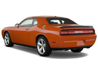 Dodge Challenger angular rear perspective